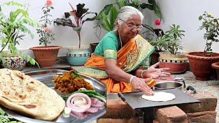 zunka bhakri recipe || authentic maharastrian zunka bhakri recipe by our grandmother
