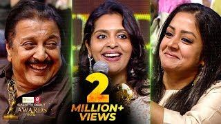 Suriya or Karthi, Who is Very Strict? - Brindha Sivakumar's Funny Reply | Galatta Debut Awards