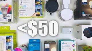 Top Budget Smart Home Tech Under $50! (2019)