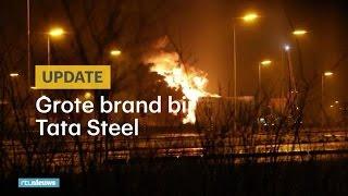 STEEL - Grote vlammen bij Tata Steel in Velsen - RTL NIEUWS