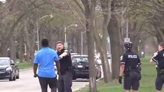 Man Fights Police Officers On Milwaukee