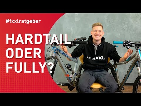 Hardtail oder Fully Mountainbike