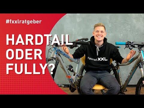 Hardtail oder Fully Mountainbike