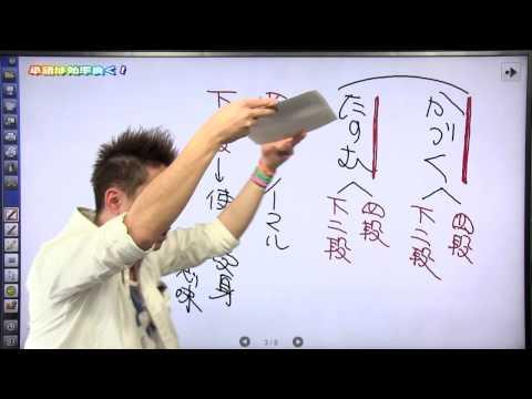 佐藤の「神ワザ」古文 #004 知識3 単語は効率よく手に入れる!
