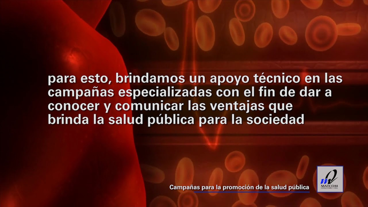 Campañas para la promoción de la salud pública