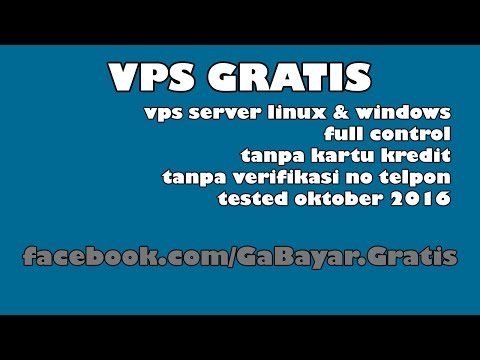 Video VPS Gratis Server Linux Windows
