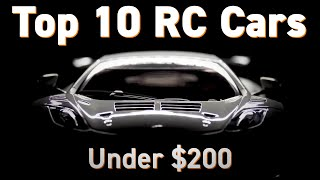 Top 10 RC RTR Cars under $200