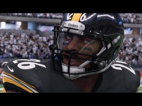 Madden 18 Early Capture Connected Franchise Gameplay | Vikings vs Steelers