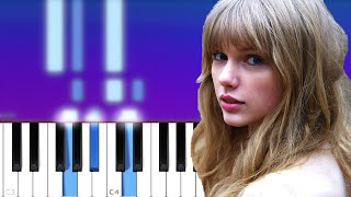Taylor Swift - Hoax | Piano Tutorial