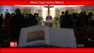 Papa Francisco-Misa Casa Santa Marta