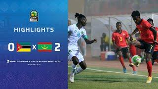 CAN U20 2021 | Groupe A : Mozambique 0-2 Mauritanie