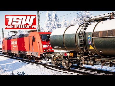 TSW: Main Spessart Bahn #6: ANSCHUB-LOK auf der Main-Spessart-Rampe für Güterzug | TRAIN SIM WORLD