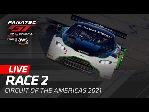 ブランパンGTワールドチャレンジ・アメリカ(COTA)Race2ライブ配信動画