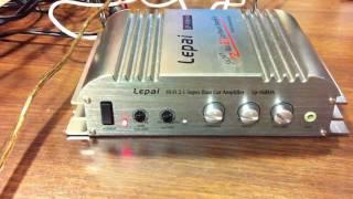 Lepai LP-168HA Mini Amp Review - OldSchoolStereo.com Bench Test
