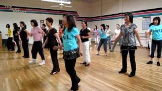 Cumbia Semana Line Dance ( Demo & Walk Through)