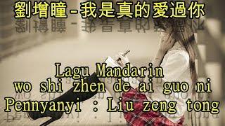 """Video thumbnail of """"Lagu Mandarin wo shi zhen de ai guo ni,劉增瞳-我是真的愛過你"""""""