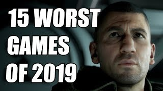 15 WORST Video Games of 2019
