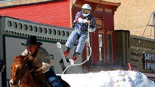 Skijoring - The Sport You