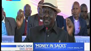 Raila Odinga: Corrupt leaders should be jailed