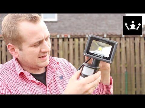 Bewegungsmelder LED Test / Review