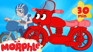 My Red Motorbikes Big Chase  My Magic Pet Morphle Motorbike And Vehicle Videos For Kids
