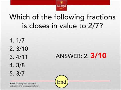Civil Service Exam Reviewer 2021 - Practice Test for MATH with ...