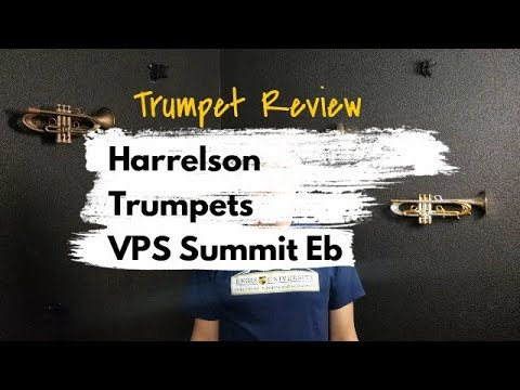 Trumpet Review – Harrelson VPS Summit Eb in Lacquer