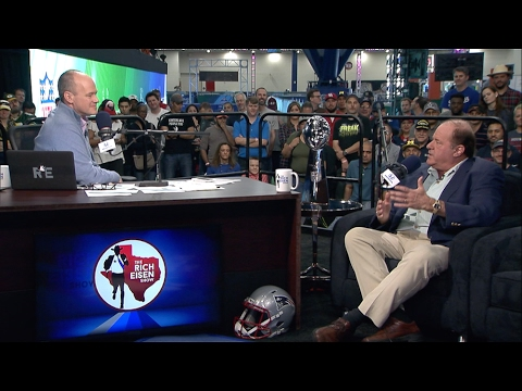 Legendary ESPN Broadcaster Chris Berman Joins The RE Show in Studio - 2/2/17