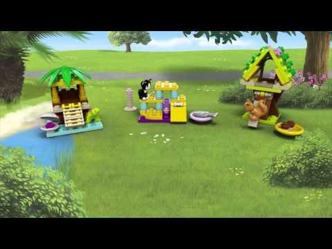 Vidéo LEGO Friends 41017 : L'écureuil et sa maison