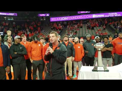 TigerNet.com - Clemson Football honored for ACC Championship