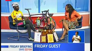 Friday Guest:James Mwaura,1st African cyclist to participate Trans-Siberian competition in Russia