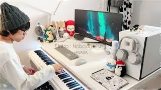 Playing Hwa Sa Intro Nobody else on Piano...