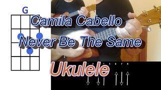 Camila Cabello Never Be The Same Ukulele