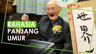 Rahasia Panjang Umur dari Chitetsu Watanabe, Pria Tertua di Dunia Versi Guinness World Records