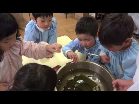笠間 友部 ともべ幼稚園 子育て情報「出汁味比べ(年中)」