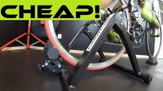 Why I would NOT Buy a Cheap Turbo Trainer For 70$. Review And Comparison...