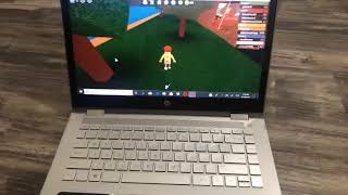 How to play Roblox on a laptop with no mouse remake video