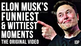 Elon Musk's Wittiest & Funniest Moments Of All Time