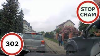 Stop Cham #302 - Niebezpieczne i chamskie sytuacje na drogach