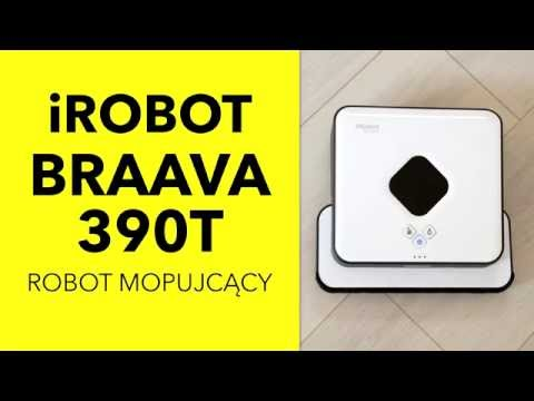 iRobot Braava 390T  robot mopujący  - dane techniczne - RTV EURO AGD
