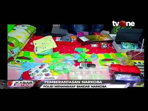 Polisi Ringkus Seorang Wanita Bandar Narkoba di Jakarta