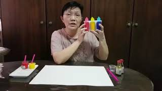 Infant Art Activity - 冰棒画/ Popsicle Painting