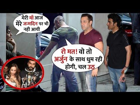 Malaika-Arbaaz Son Arhaan Khan Gets Emotional For His Mom In Front of Salman Khan and Sohail Khan