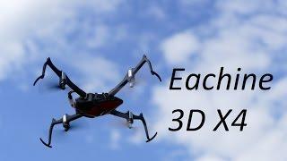 Eachine 3D X4: квадрокоптер который летает вверх ногами