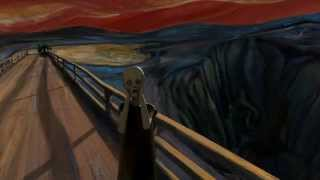 Edvard Munch's 3D The Scream Animation