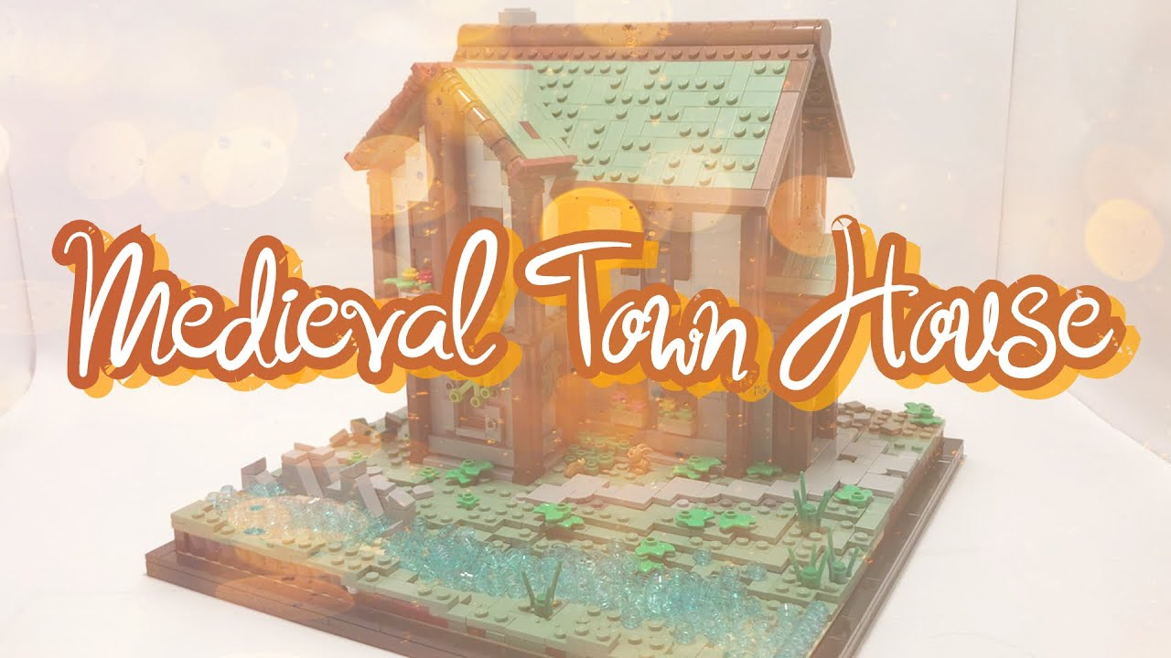 Medieval Town House! - Lego MOC Review - My Best but Last MOC?