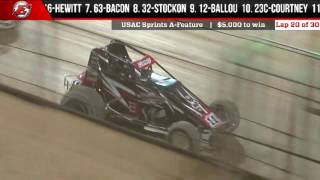 LetsRaceTwo Night 1 of 2 Video highlights featuring World of Outlaws Craftsman