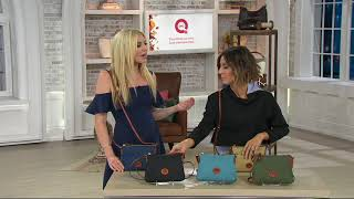 Dooney & Bourke Nylon Crossbody Pouchette Bag On QVC