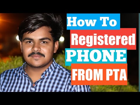 How to Register Free Mobile With PTA | PTA Mobile Verification Free