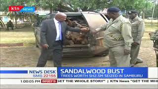 Police nab sandalwood worth sh.2.5 million in Samburu being ferried to Laikipia town